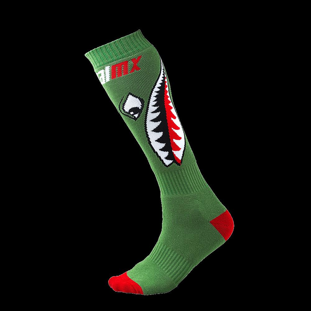 Pro MX Sock Bomber green (One Size) - Pro MX Sock Bomber green (One Size)