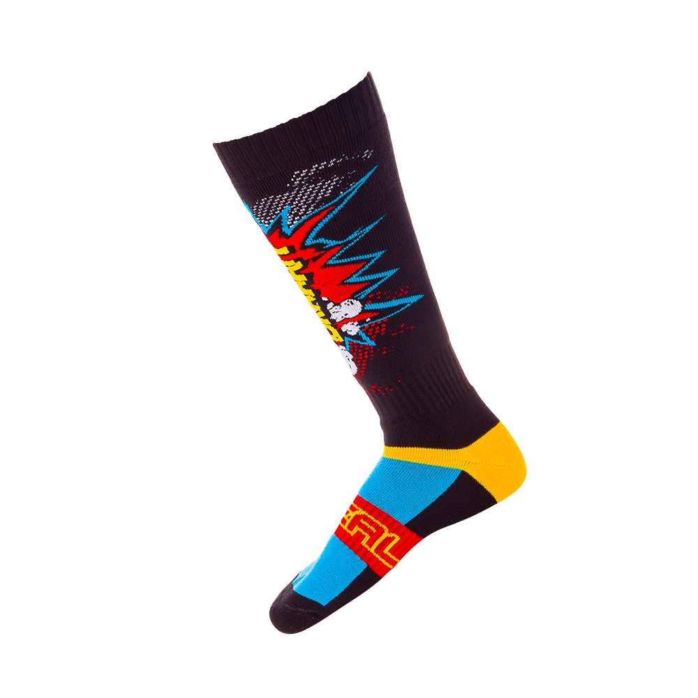 Pro MX Sock BRAAAPP black/multi - Pro MX Sock BRAAAPP black/multi
