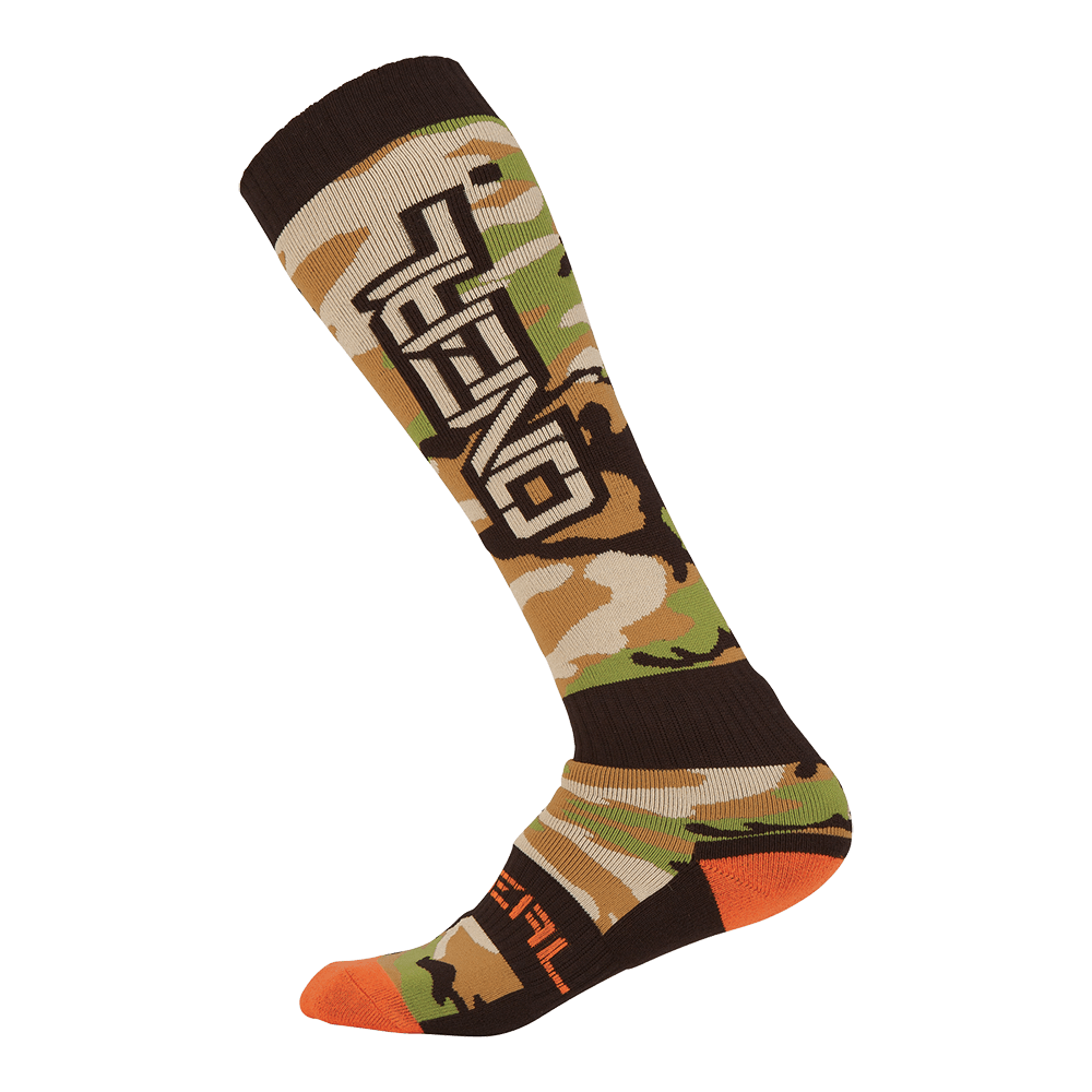 Pro MX Sock WOODS CAMO Black/Green - Pro MX Sock WOODS CAMO Black/Green