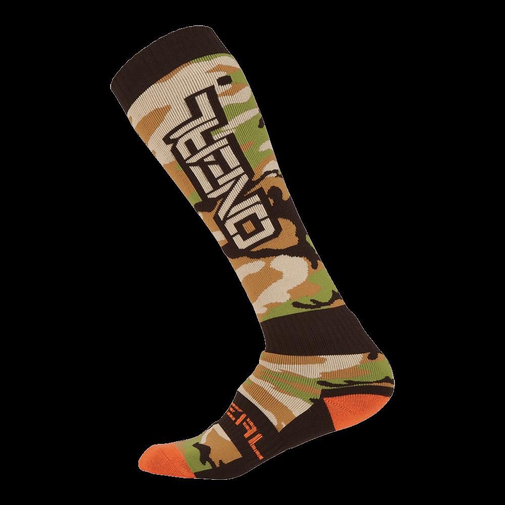 Pro MX Sock WOODS CAMO Black/Green - Pro MX Sock WOODS CAMO Black/Green