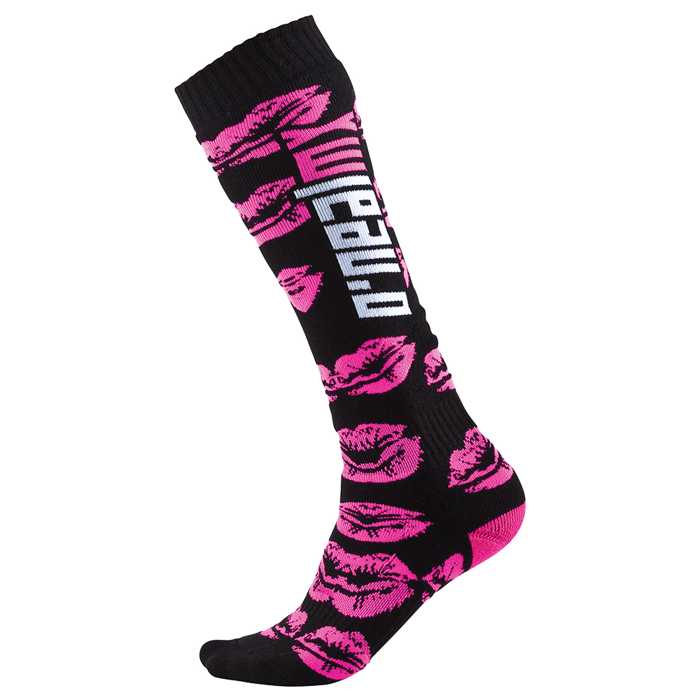 Pro MX Sock XOXO black/pink (One Size) - Pro MX Sock XOXO black/pink (One Size)