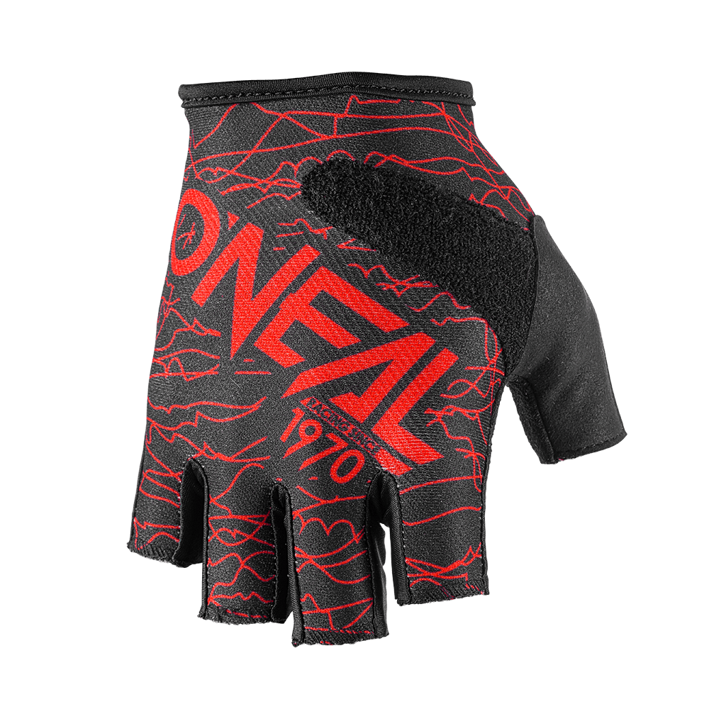 Fingerless WIRED Glove black/red M/8,5 - Fingerless WIRED Glove black/red M/8,5