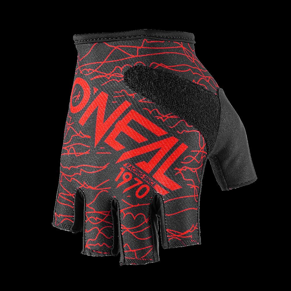 Fingerless WIRED Glove black/red S/8 - Fingerless WIRED Glove black/red S/8
