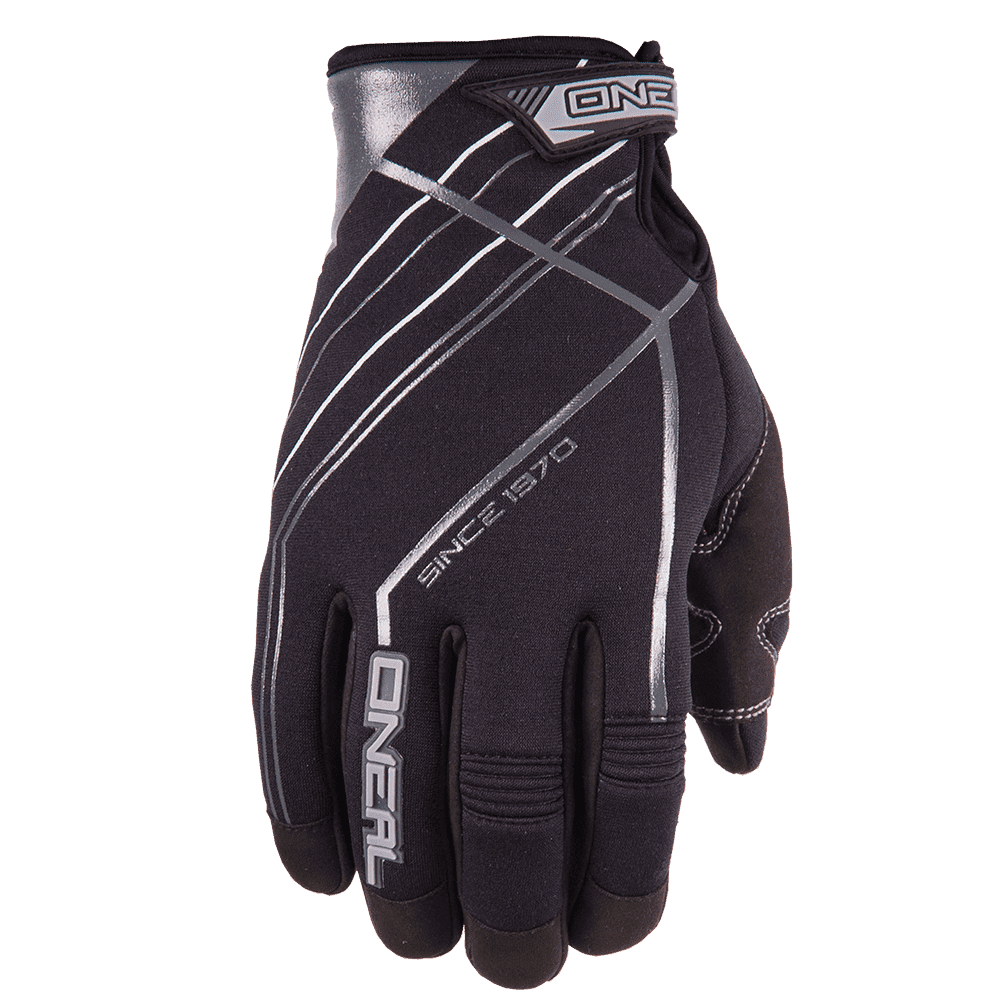 WINTER Glove black/gray S/8 - WINTER Glove black/gray S/8