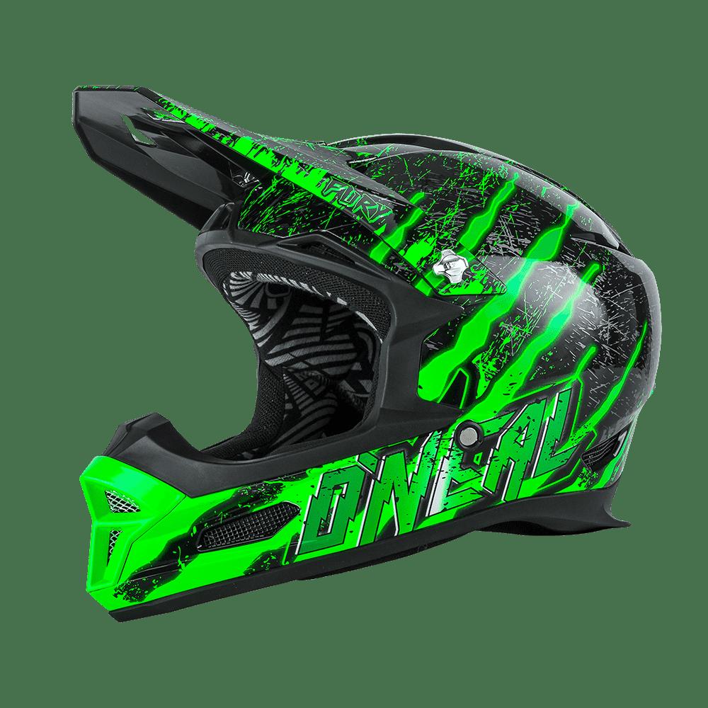 Fury RL Helmet MERCURY black/green M (57/58cm) - Fury RL Helmet MERCURY black/green M (57/58cm)