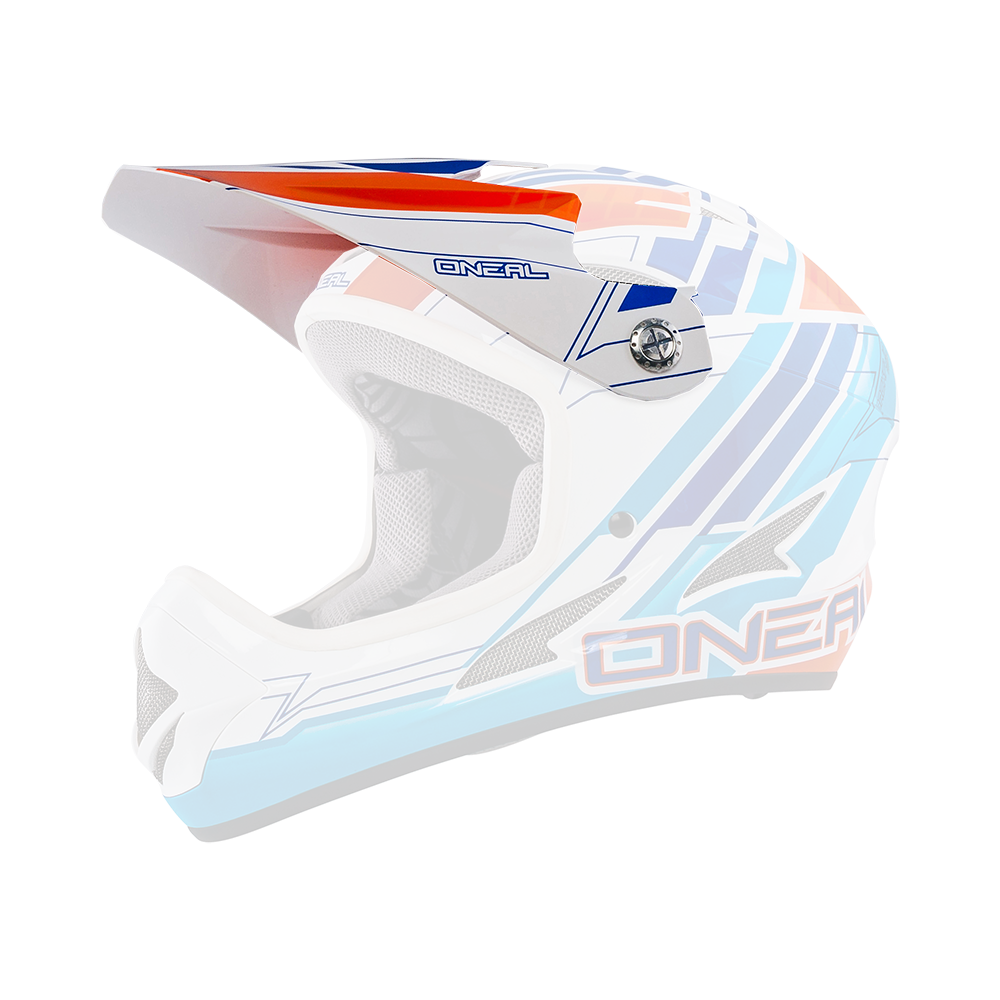 Spare Visor Backflip Evo until 2015 PINNER blue - Spare Visor Backflip Evo until 2015 PINNER blue