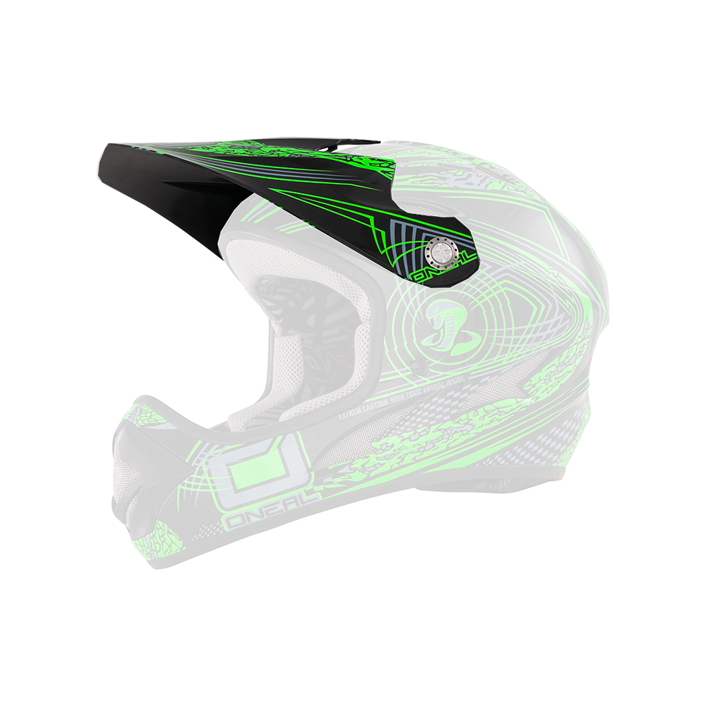 Spare Visor Backflip Evo until 2015 VENTURE green - Spare Visor Backflip Evo until 2015 VENTURE green