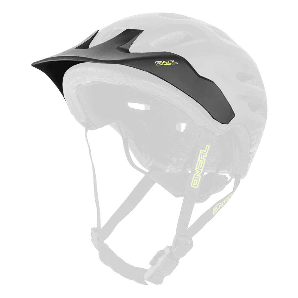 Spare Visor Defender FLAT black/yellow - Spare Visor Defender FLAT black/yellow