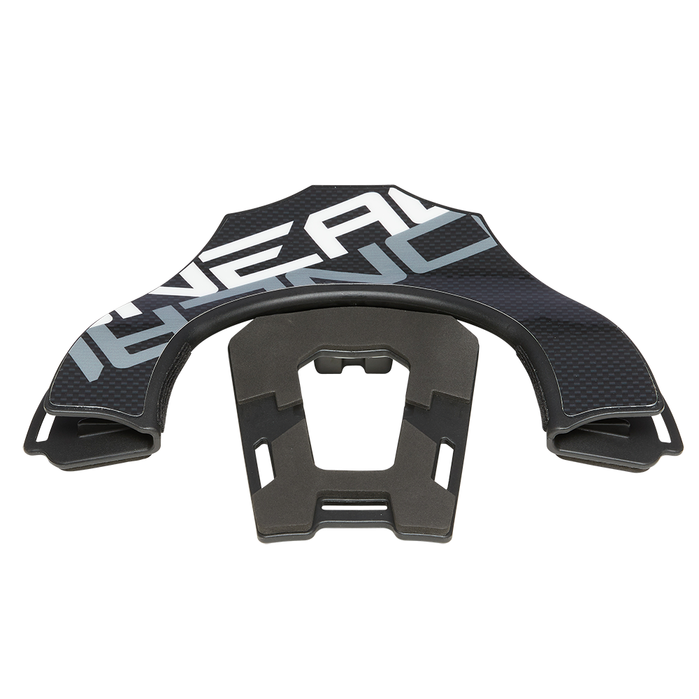 Back Part Tron Neckbrace Black/White - Back Part Tron Neckbrace Black/White
