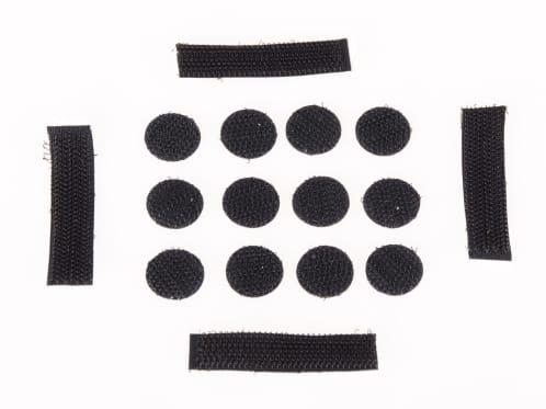 Spare Velcro Sticker Set for Dirt Lid Helmet - Spare Velcro Sticker Set for Dirt Lid Helmet