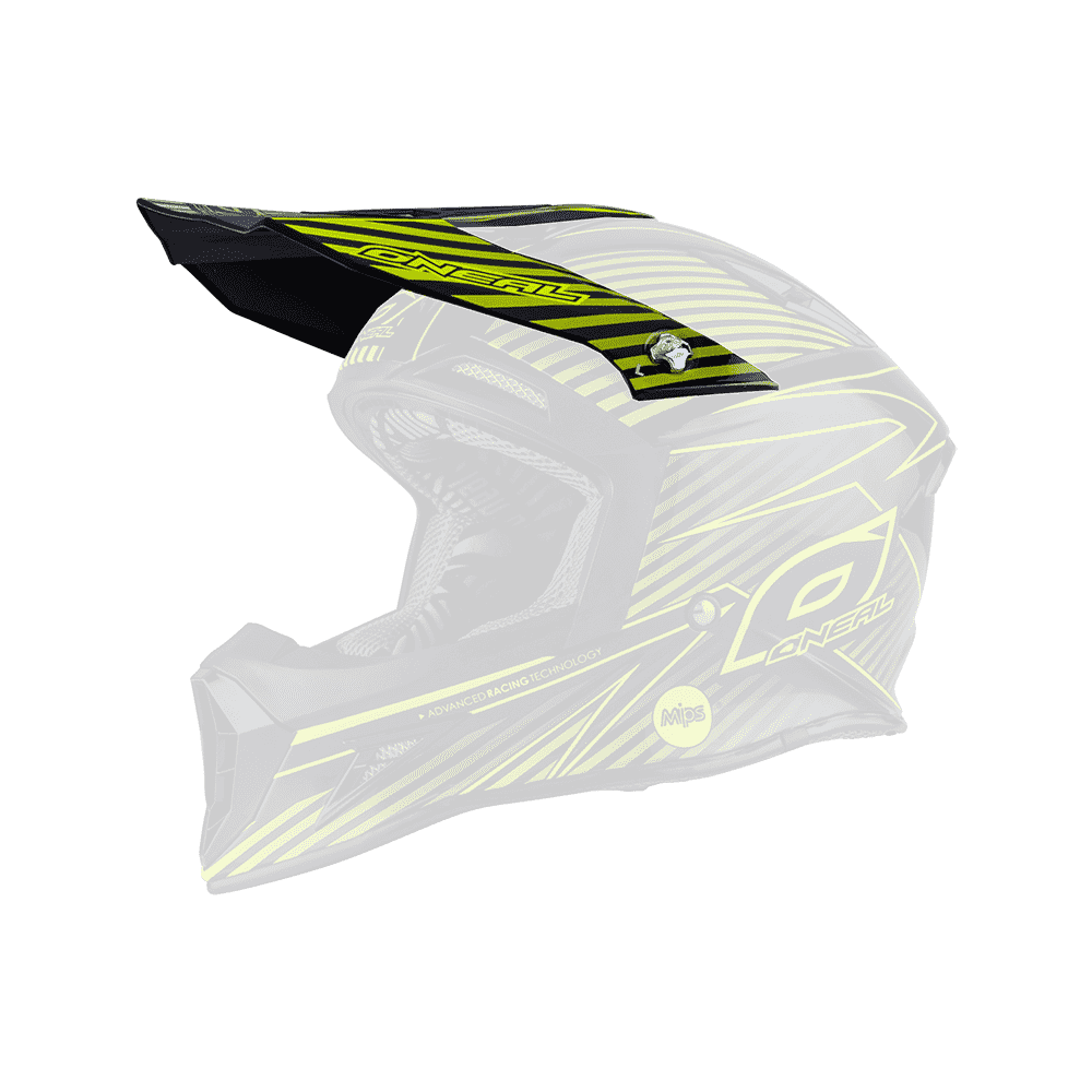 Spare Visor 10Series MIPS neon yellow - Spare Visor 10Series MIPS neon yellow