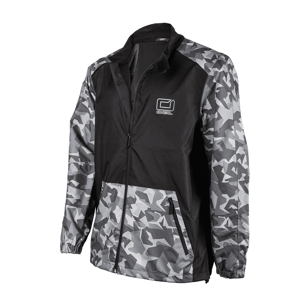 Shore II Rain Jacket black/gray XS - Shore II Rain Jacket black/gray XS