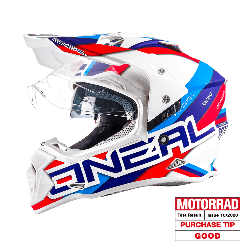 Sierra II Helmet CIRCUIT white/blue L (59/60cm) - Sierra II Helmet CIRCUIT white/blue L (59/60cm)