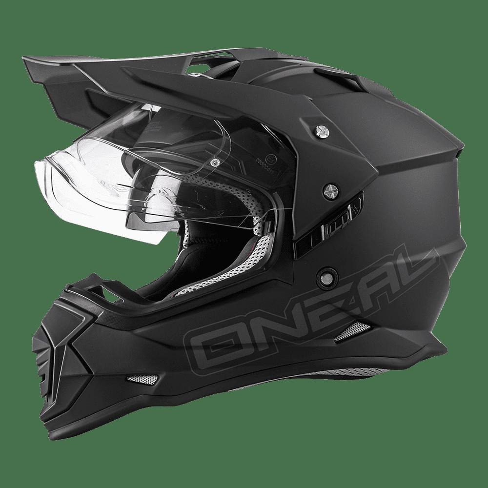 Sierra II Helmet FLAT black XXL (63/64cm) - Sierra II Helmet FLAT black XXL (63/64cm)