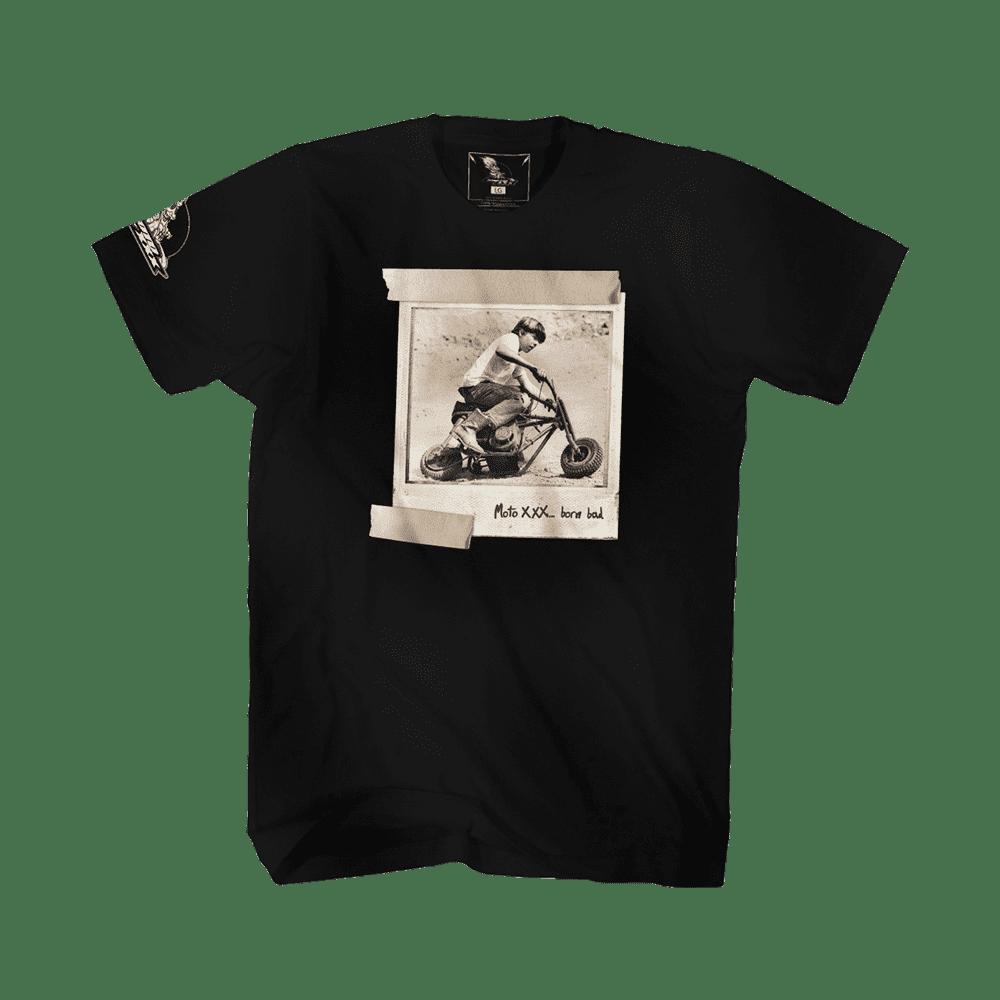 Moto XXX T-Shirts BAD KID black M - Moto XXX T-Shirts BAD KID black M