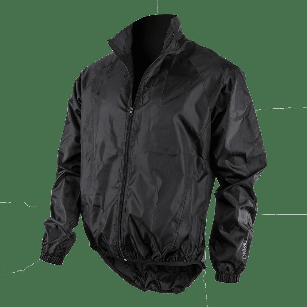 BREEZE Rain Jacket black XXL - BREEZE Rain Jacket black XXL