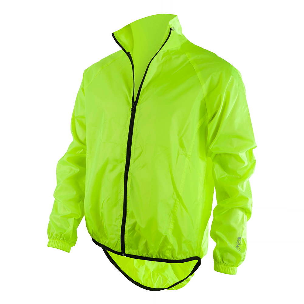 BREEZE Rain Jacket hi-viz XL - BREEZE Rain Jacket hi-viz XL