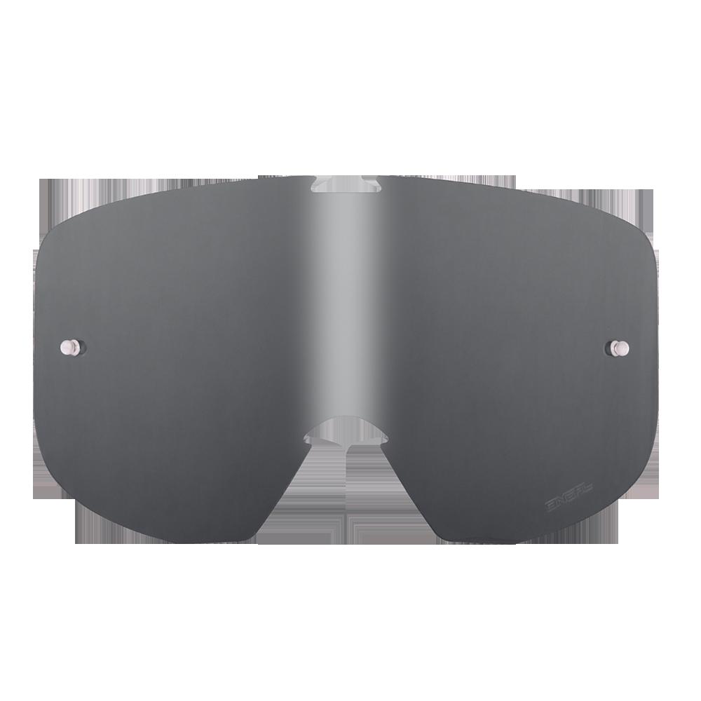 Spare Lens B1 RL Goggle gray-antifog, Tear-Off Pins - Spare Lens B1 RL Goggle gray-antifog, Tear-Off Pins