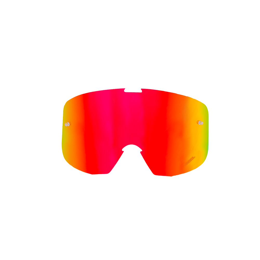 Spare Lens B1 RL Goggle Radium red, Tear-Off Pins - Spare Lens B1 RL Goggle Radium red, Tear-Off Pins