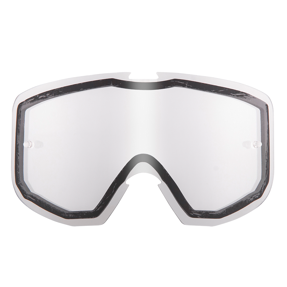 Spare Double Lens B1 RL Goggle clear-antifog, Tear-Off Pins - Spare Double Lens B1 RL Goggle clear-antifog, Tear-Off Pins