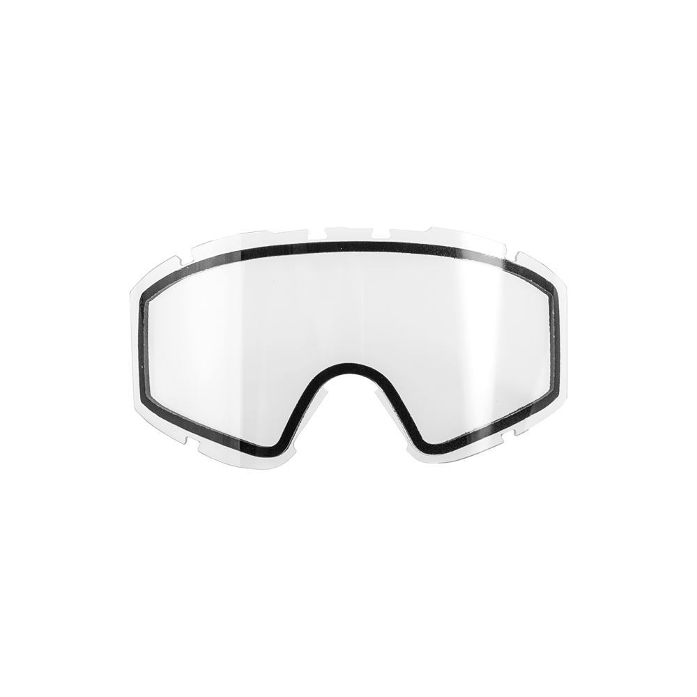 Spare Double Lens B2 RL Goggle clear-antifog-antiscratch - Spare Double Lens B2 RL Goggle clear-antifog-antiscratch