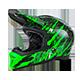Fury RL Helmet MERCURY black/green XS (53/54cm) - radschlag - Fahrradladen Ladengeschäft und Online Shop in Chemnitz - Fahrräder und Fahrradzubehör