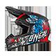 5Series Helmet VANDAL blue/red/white XS (53/54cm) - radschlag - Fahrradladen Ladengeschäft und Online Shop in Chemnitz - Fahrräder und Fahrradzubehör
