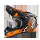 3Series Helmet FUEL black/orange XS (53/54 cm) - radschlag - Fahrradladen Ladengeschäft und Online Shop in Chemnitz - Fahrräder und Fahrradzubehör