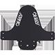 Splatter Fender black/white - radschlag - Fahrradladen Ladengeschäft und Online Shop in Chemnitz - Fahrräder und Fahrradzubehör